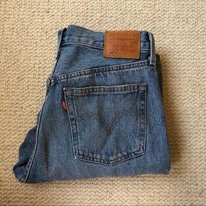 Levi's 501 vintage style Distressed jean